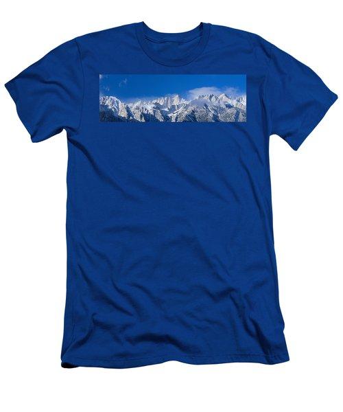 Usa, California, Mount Whitney Men's T-Shirt (Athletic Fit)
