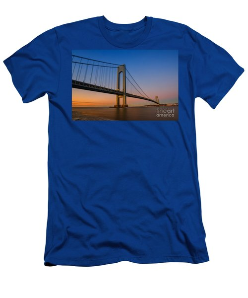 Verrazano Bridge Sunrise  Men's T-Shirt (Athletic Fit)