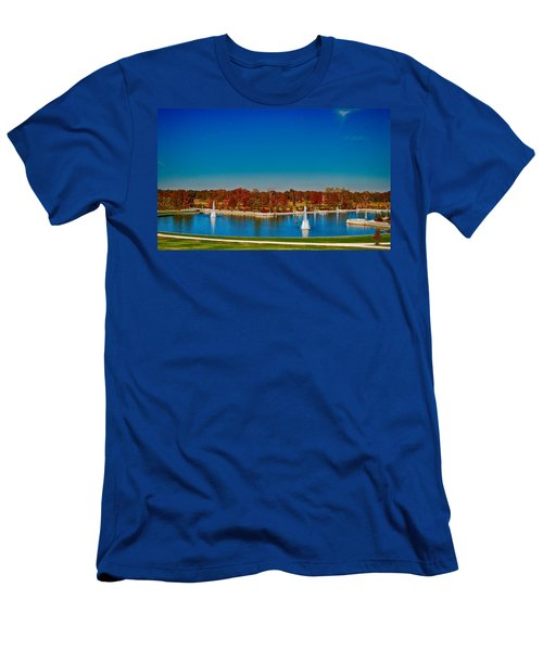 View From Art Hill Forest Park Missouri Men's T-Shirt (Athletic Fit)