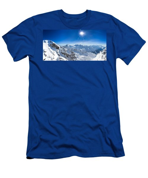 View From Titlis Mountain Towards The South Men's T-Shirt (Athletic Fit)
