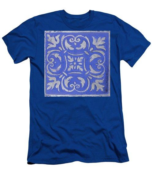 Violet Mosaic Men's T-Shirt (Athletic Fit)