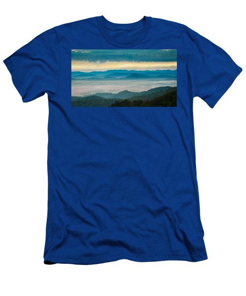 Men's T-Shirt (Athletic Fit) featuring the photograph Waiting For The Sun by Joye Ardyn Durham