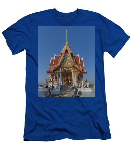 Wat Bukkhalo Central Roof-top Pavilion Dthb1809 Men's T-Shirt (Athletic Fit)