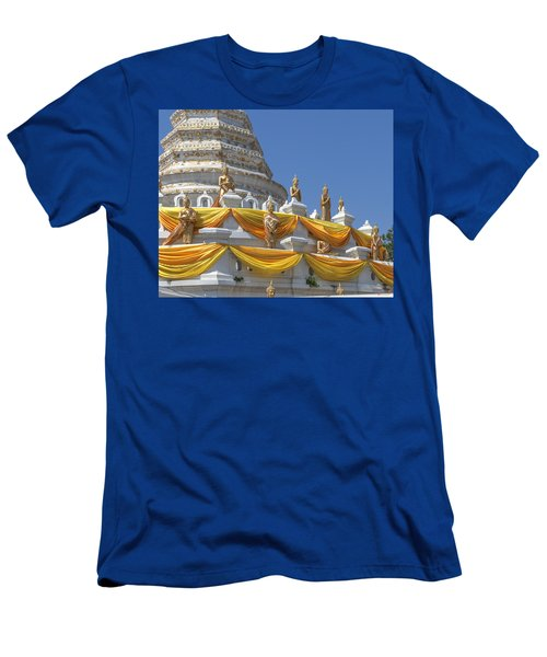 Wat Songtham Phra Chedi Buddha Images Dthb1916 Men's T-Shirt (Athletic Fit)