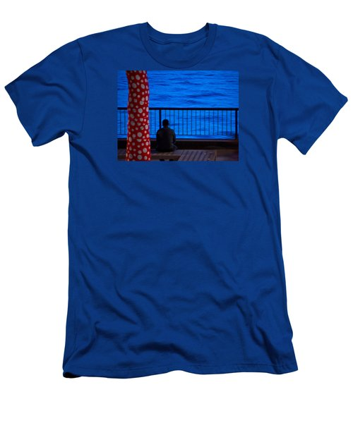 Watching The River Men's T-Shirt (Athletic Fit)
