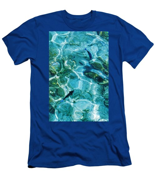 Water Meditation II. Five Elements. Healing With Feng Shui And Color Therapy In Interior Design Men's T-Shirt (Athletic Fit)