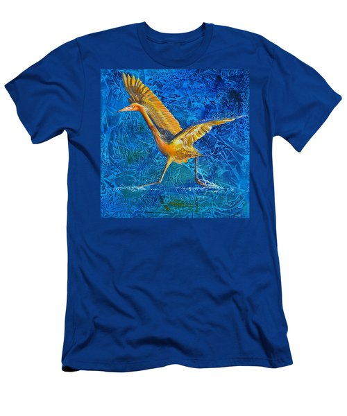 Water Run Men's T-Shirt (Athletic Fit)