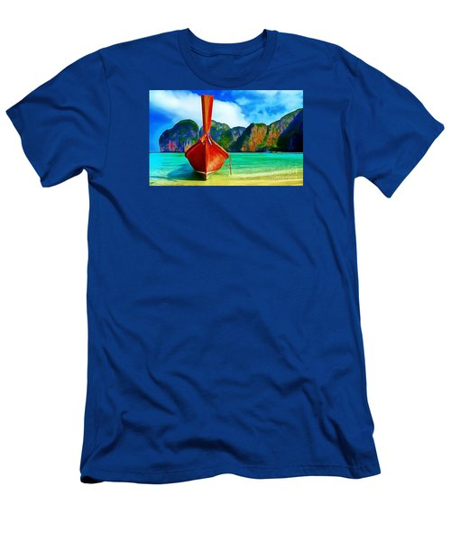 Watermarked-a Dreamy Version Collection Men's T-Shirt (Slim Fit) by Catherine Lott