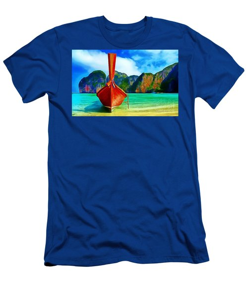 Watermarked-a Dreamy Version Collection Men's T-Shirt (Athletic Fit)