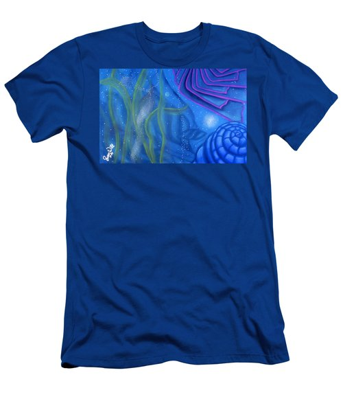 Watery Men's T-Shirt (Athletic Fit)