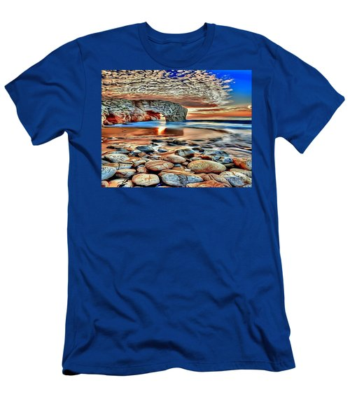 Weighed In Stone Men's T-Shirt (Athletic Fit)