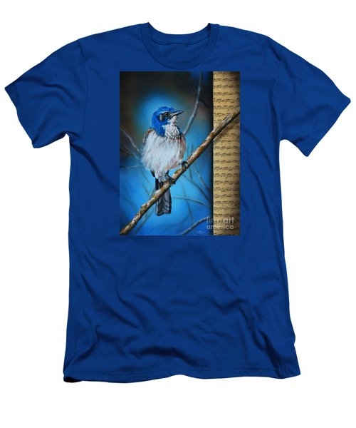 Western Scrub Jay Men's T-Shirt (Athletic Fit)
