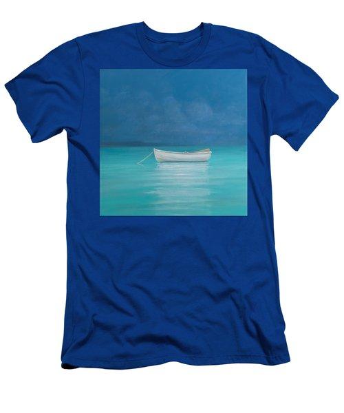 White Boat Kilifi  Men's T-Shirt (Athletic Fit)