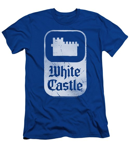 White Castle - Classic Logo Men's T-Shirt (Athletic Fit)