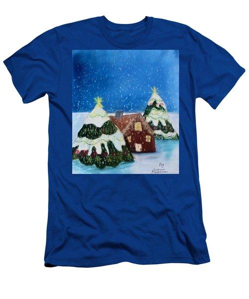 Christmasland Men's T-Shirt (Slim Fit) by Joshua Maddison