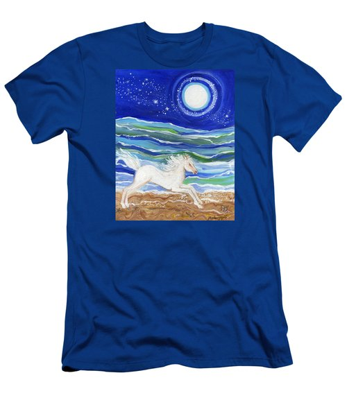 White Horse Of The Sea Men's T-Shirt (Athletic Fit)