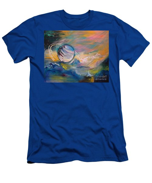 Who But You Could Leave A Trail Of Galaxies Men's T-Shirt (Athletic Fit)