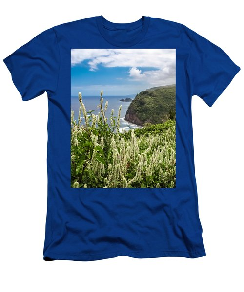 Wild Flowers At Pololu Men's T-Shirt (Athletic Fit)