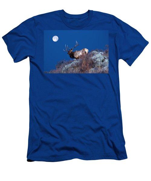 Wild Moon Men's T-Shirt (Athletic Fit)