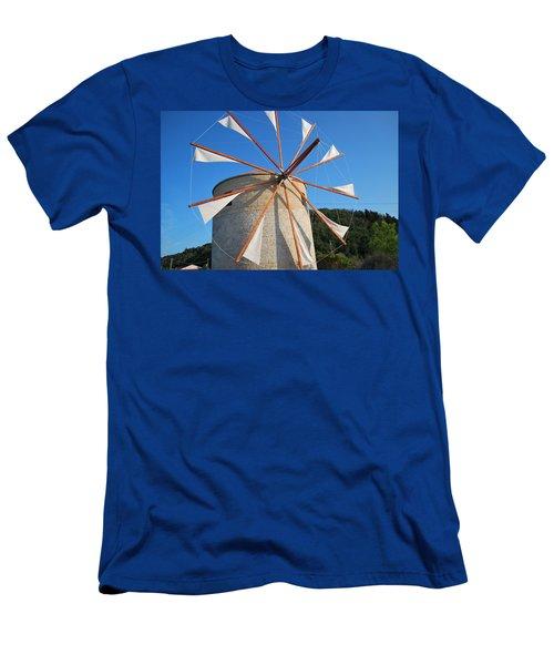 Windmill  2 Men's T-Shirt (Athletic Fit)