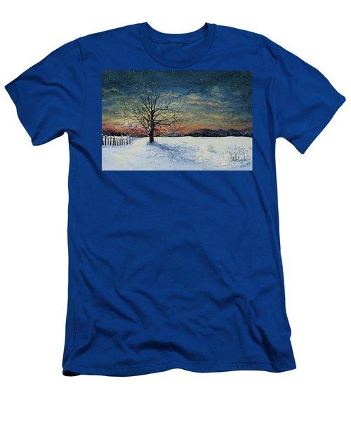 Winters Eve Men's T-Shirt (Athletic Fit)