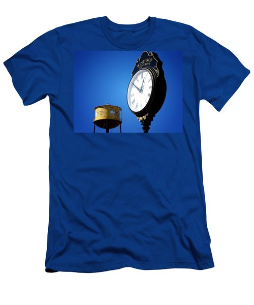 Men's T-Shirt (Slim Fit) featuring the photograph Winthrop Time by Greg Simmons