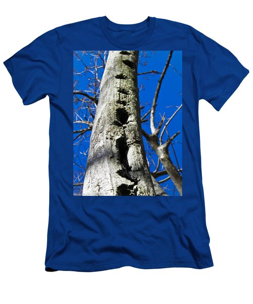 Men's T-Shirt (Slim Fit) featuring the photograph Woody's Paradise by Nick Kirby