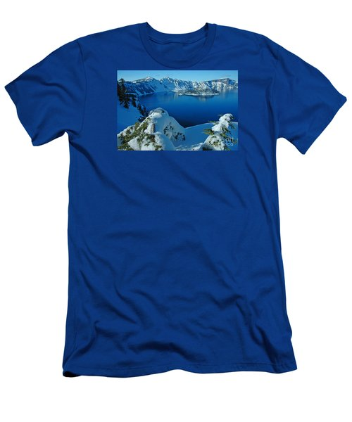 Men's T-Shirt (Slim Fit) featuring the photograph WOW by Nick  Boren