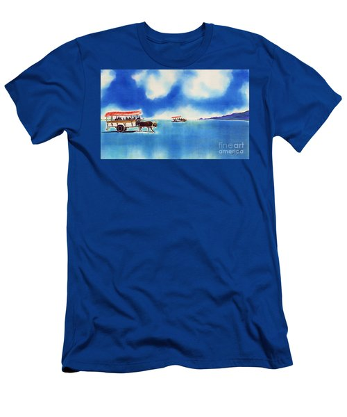 Yubu Island-water Buffalo Taxi  Men's T-Shirt (Athletic Fit)