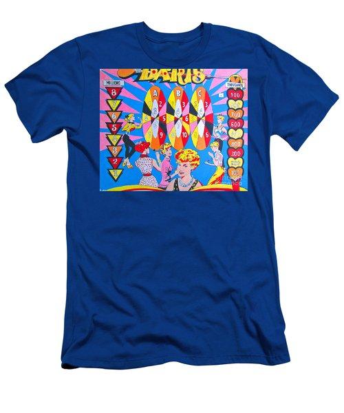 Girl Darts Men's T-Shirt (Athletic Fit)