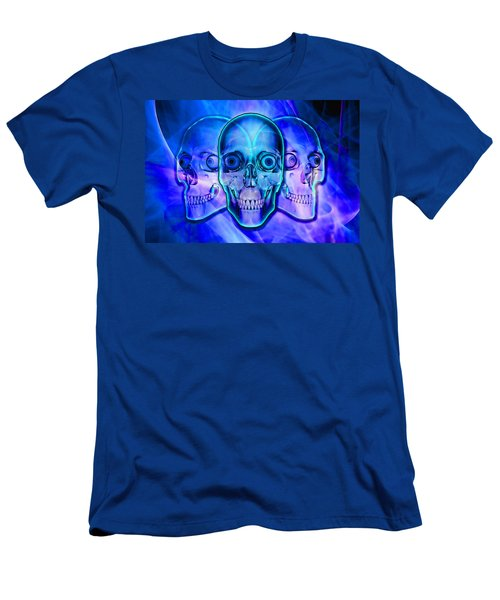 Illuminated Skulls Men's T-Shirt (Athletic Fit)