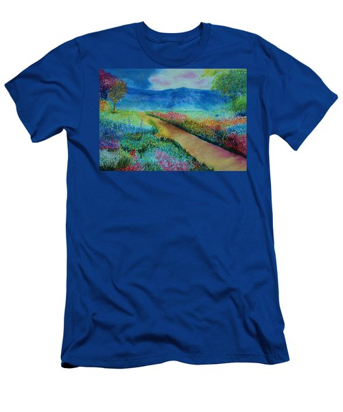 Patricia's Pathway Men's T-Shirt (Athletic Fit)