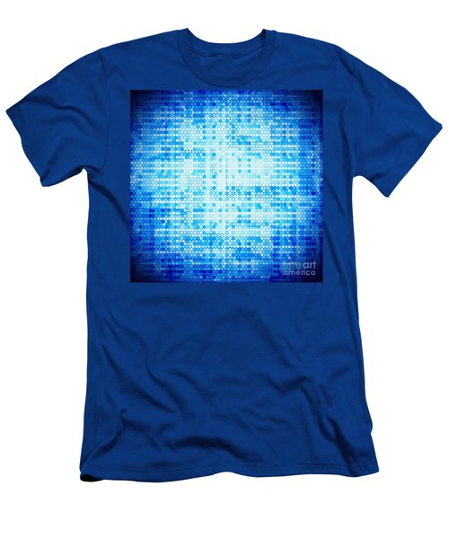 Seamless Honeycomb Pattern Men's T-Shirt (Athletic Fit)