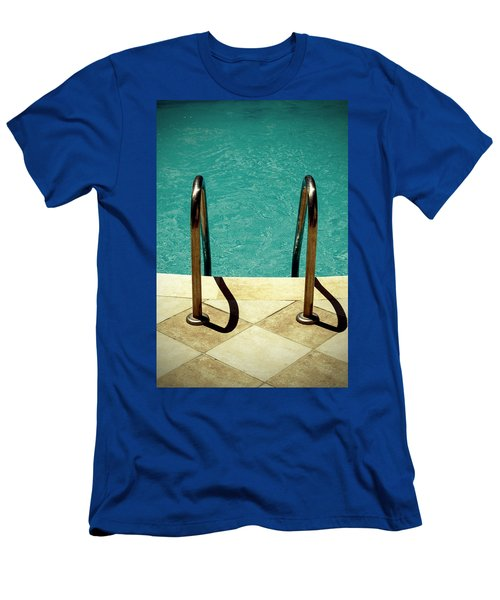 Swimming Pool Men's T-Shirt (Athletic Fit)