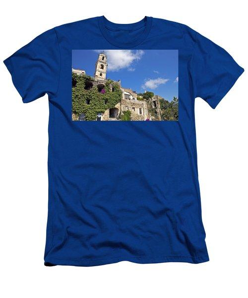 Bussana Vecchia - Liguria - Italy Men's T-Shirt (Athletic Fit)