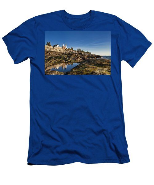 Pemaquid Point Lighthouse Men's T-Shirt (Athletic Fit)