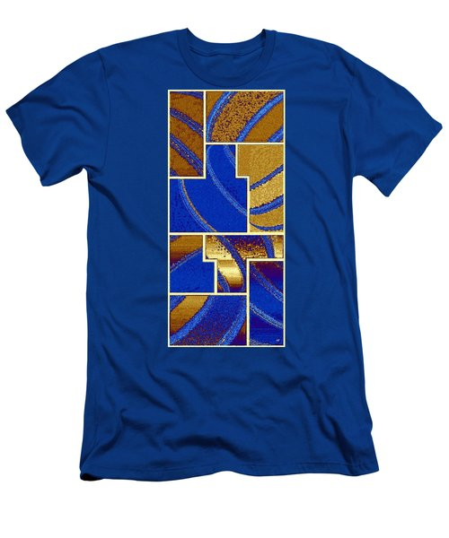 Abstract Fusion 91 Men's T-Shirt (Athletic Fit)