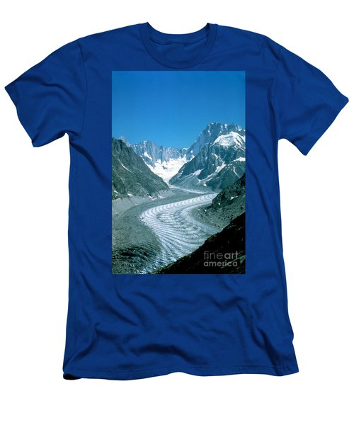 Alpine Glacier Men's T-Shirt (Athletic Fit)