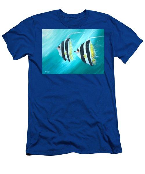 Angel Fish Men's T-Shirt (Athletic Fit)