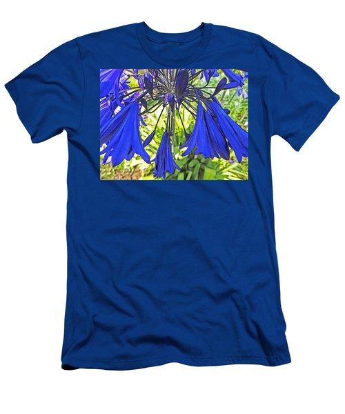 Beautiful Bluebells Close-up Men's T-Shirt (Slim Fit) by Anne Mott