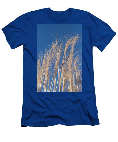 Men's T-Shirt (Slim Fit) featuring the photograph Blowing In The Wind by Barbara McMahon