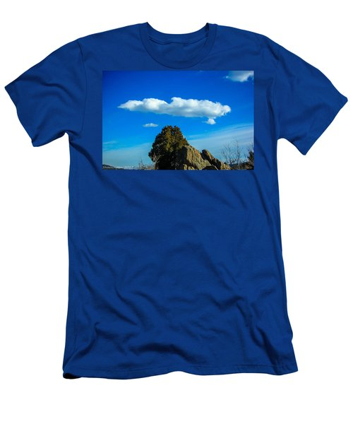 Men's T-Shirt (Slim Fit) featuring the photograph Blue Skies by Shannon Harrington