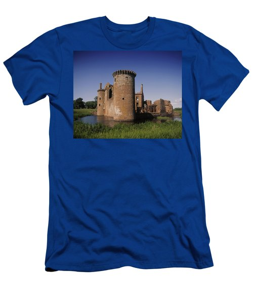 Caerlaverock Castle, Dumfries, Scotland Men's T-Shirt (Athletic Fit)