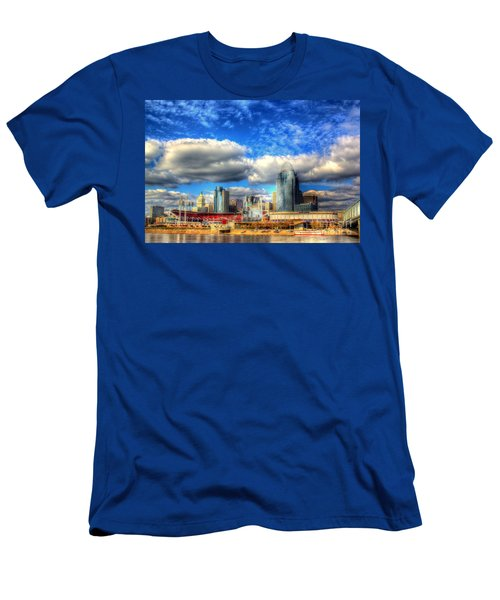 Cincinnati Skyline 2012 - 2 Men's T-Shirt (Athletic Fit)