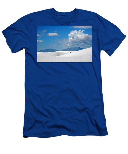 Clouds Over The White Sands Men's T-Shirt (Athletic Fit)