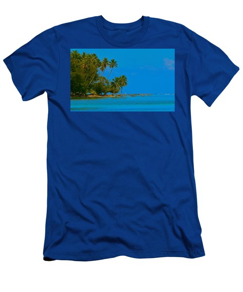 Men's T-Shirt (Slim Fit) featuring the photograph Coconuts Anyone by Eric Tressler