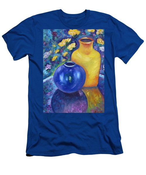 Colorful Jars Men's T-Shirt (Athletic Fit)
