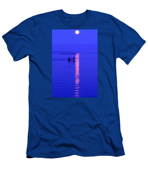 Coming Home Men's T-Shirt (Slim Fit) by Francine Frank