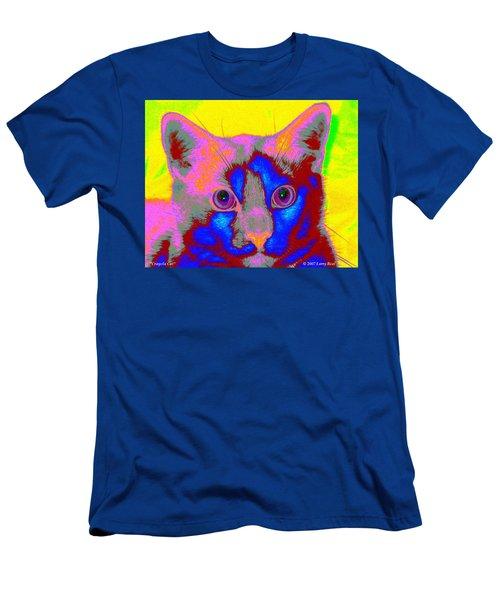 Crayola Cat Men's T-Shirt (Athletic Fit)