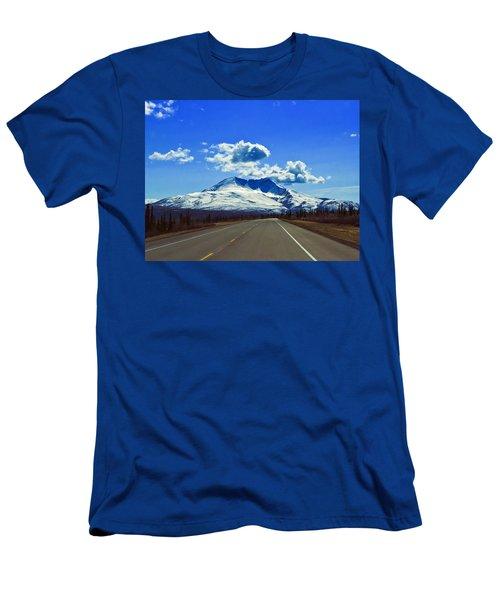Denali Highway Men's T-Shirt (Athletic Fit)